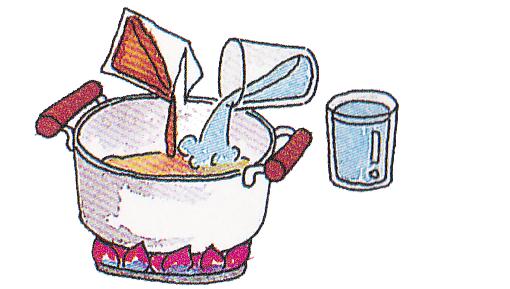 元祖具付冷凍長崎ちゃんぽん 作り方1
