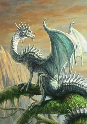 七海ルシア ドラゴンイラストその1